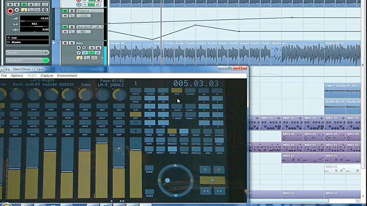 TouchDAW - RTP (& OS X Network) MIDI