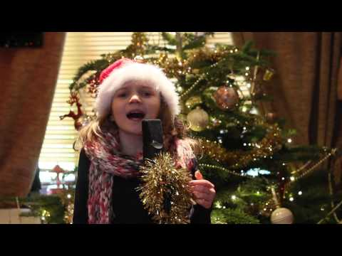Santa Claus Is Coming To Town by Mariah Carey, Jackson 5, x factor finalists, Sapphire age 9
