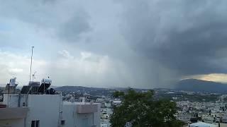 Καταιγιδα , Ηρακλειο 20/06/2018 - Νυχας Αναστασιος