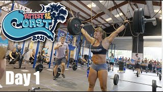 Fittest of the Coast 2021 - CrossFit Competition (Day 1)