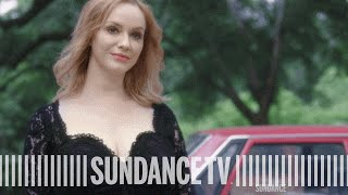 HAP AND LEONARD | 'Trudy Comes Calling' Official Clip (Ft. Christina Hendricks) | SundanceTV