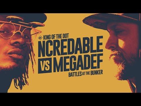KOTD - Rap Battle - Ncredable vs Megadef   #BATB1