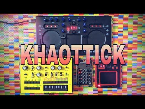 Quick Techno Jam with the Korg Kaoss DJ Mixer, Monotribe, Kaoss Pad Mini & PO-33 Sampler