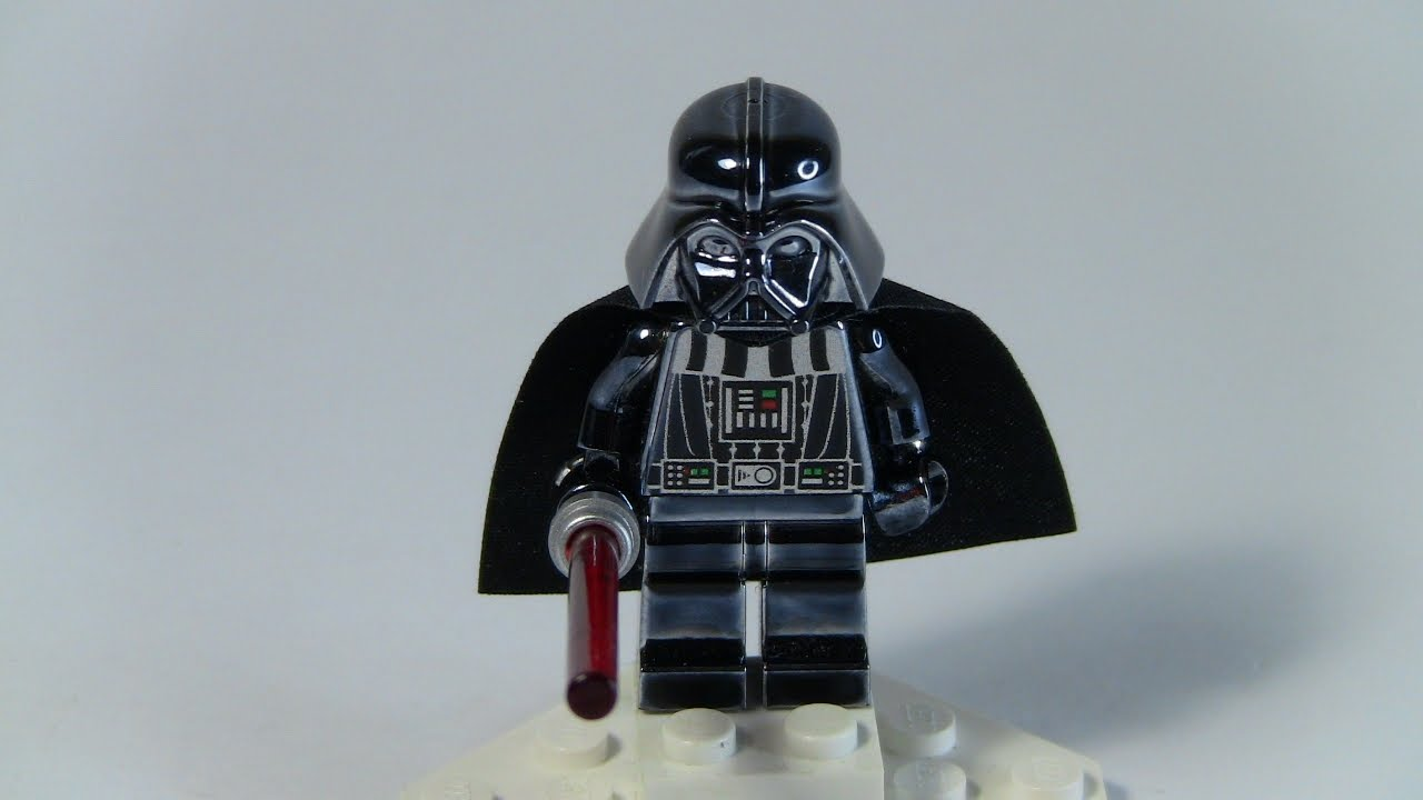 LEGO Star Wars Chrome Darth Vader   Set 4547551   YouTube