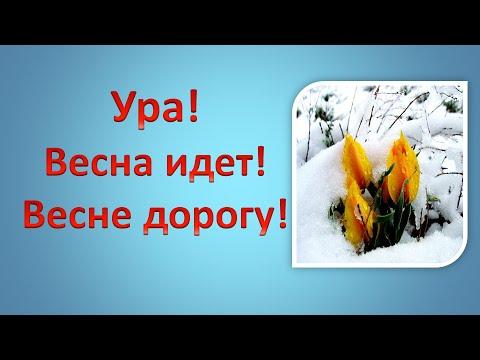 Ура! Весна идёт! Весне дорогу!