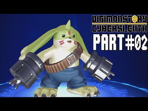 Digimon Story Cyber Sleuth Walkthrough Part 2 Gameplay Lets Play Review