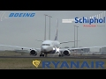 Ryanair | B737-800 | AMS - DUB | EI-FTJ | Close-up Takeoff Schiphol Airport