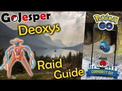 Deoxys EX Raid Guide og Beldum Community Day (Dansk Pokémon GO) thumbnail