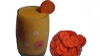 Carrot juice @ in Telugu video