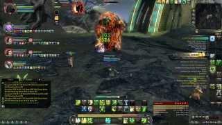 Rift 3.0 - Nightmare Tide  - Dungeon run healer - gameplay