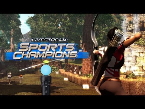 Livestream: Sports Champions - THE GREATEST PLAYSTATION MOVE GAME EVER MADE!
