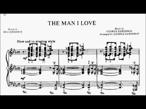LCM Piano 2018-2020 Grade 8 List C2 Gershwin The Man I Love Sheet Music