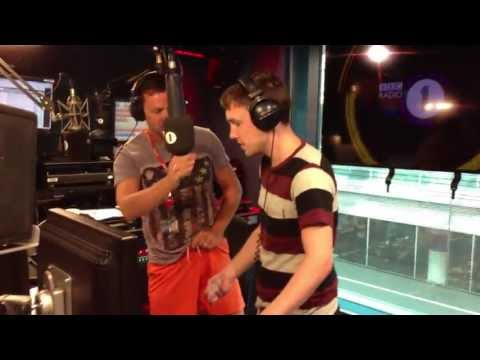 Scott Mills and Chris Stark Pour Ice Down Their Pants...
