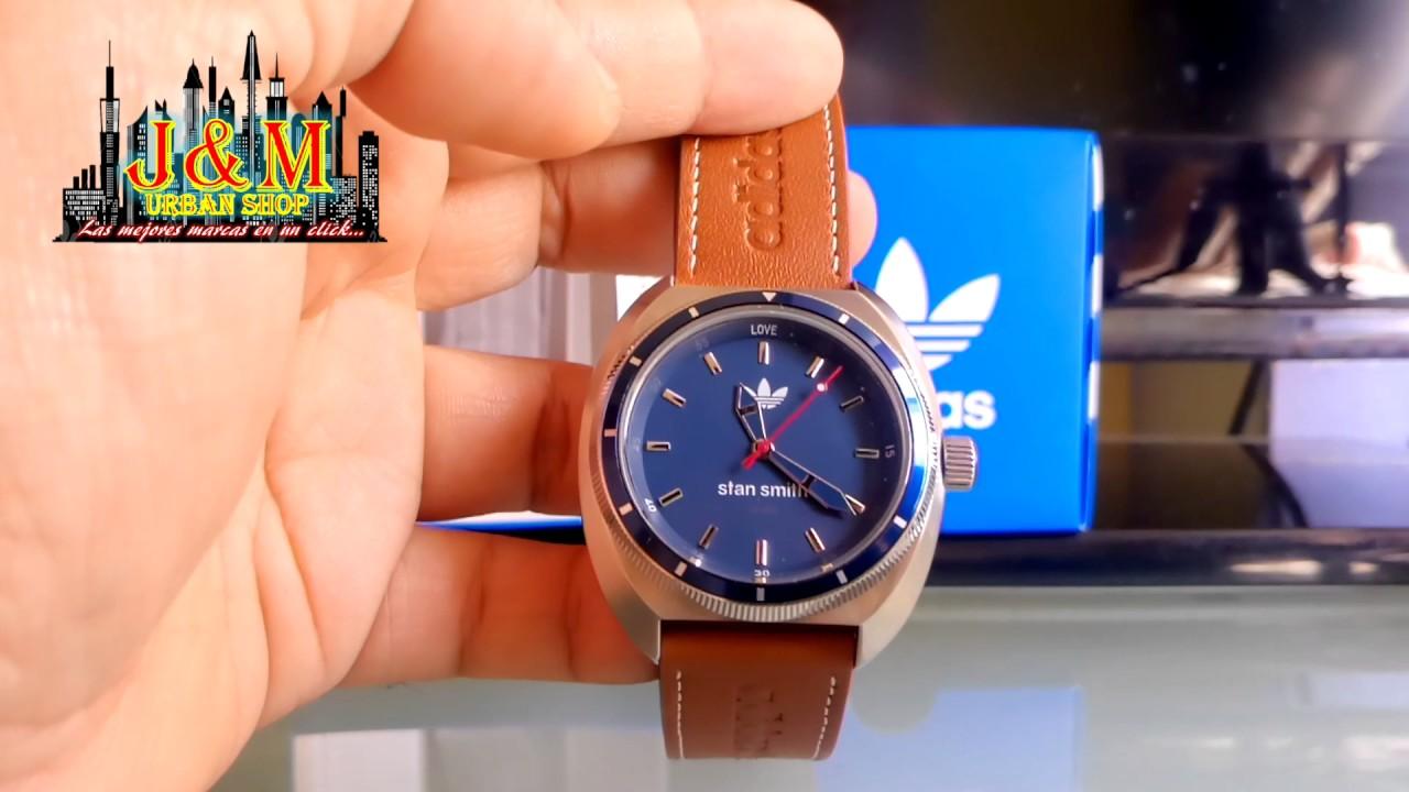 Hombre Hombre Stan Stan Smith Adidas Adidas Reloj Reloj Smith IbY6vf7gy