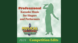 Don't Cry Out Loud (In the Style of Melissa Manchester) (Karaoke Version Teaching Vocal)