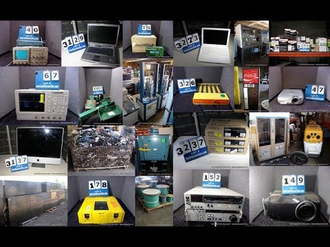 724 Government, Corporate & Private 2 Day Surplus Auction Lot #'s 1 - 1,075