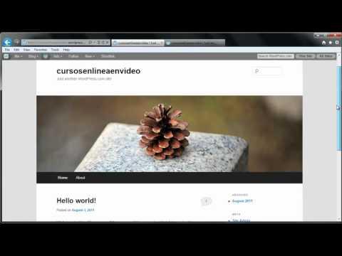 TUTORIAL DE WORDPRESS - COMO CREAR UNA PAGINA WEB O BLOG PARTE 1