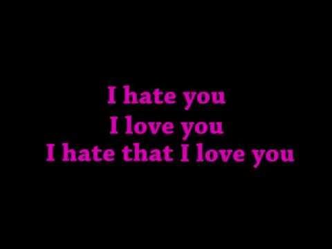 GNASH - I HATE YOU I LOVE YOU - LYRICS