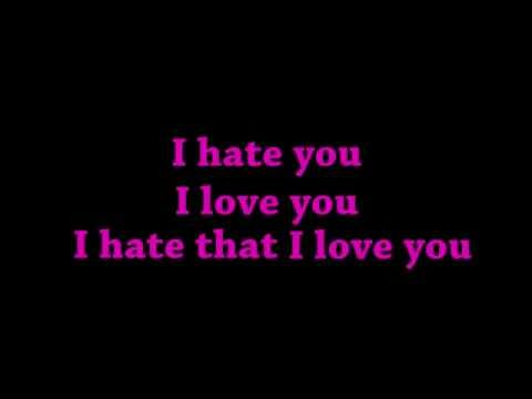 GNASH - I HATE YOU I LOVE YOU - LYRICS