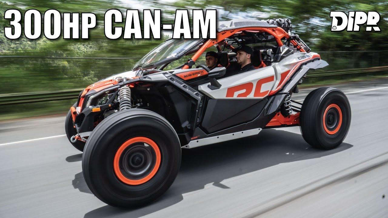 324HP Can-Am Maverick X3 Turbo RR ¡El más poderoso en la isla!   Car Stories #56
