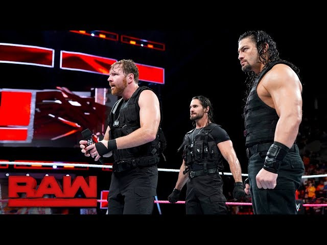 The Shield arrive on Raw looking for a fight: Raw, Oct. 16, 2017