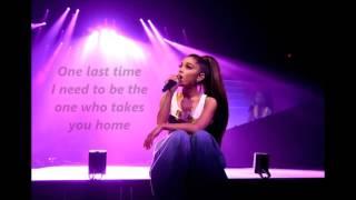 Baixar Ariana Grande - One Last Time lyrics