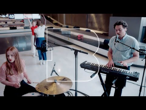 Metronomy - 16 Beat | Live Music Video at Paris-Charles De Gaulle airport
