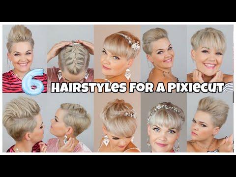 How To Style A Short Pixiecut | 6 Ways To Style Short Hair | Salirasa