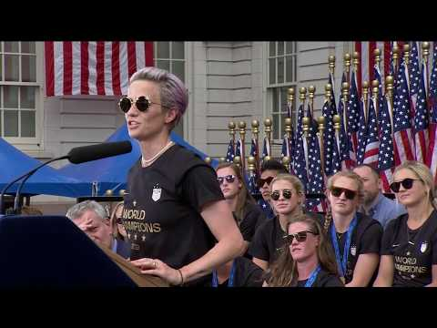 Rico - Megan Rapinoe's FULL SPEECH!