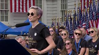 Megan Rapinoe's full World Cup parade speech