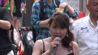 岩崎愛子♪高幡雨情@2013 高幡不動七夕まつり