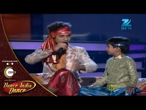 Raghav and Singer Azmat BREATHTAKING Performance  - Dance India Dance Season 3 -