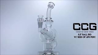 """CCG 8.5"""" Ball Rig w/ Seed of Life Perc"""
