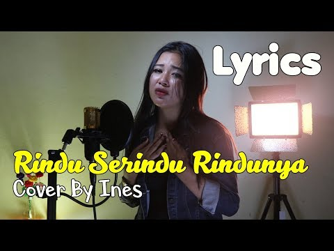 RINDU SERINDU RINDUNYA - FIRMAN SIAGIAN | COVER AKUSTIK BY INES (LYRICS)