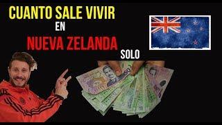 Cuanto vale vivir en Nueva Zelanda  solo // 2018 - 2019