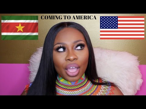 COMING TO AMERICA (VERY SAD STORY TIME) MOVING FROM SURINAME TO AMERICA.