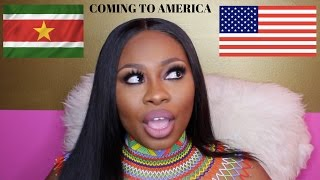 Видео COMING TO AMERICA (VERY SAD STORY TIME) MOVING FROM SURINAME TO AMERICA. от Kluermoi, Суринам