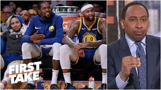 Warriors' only competition in the NBA is the Celtics and Raptors – Stephen A. | First Take