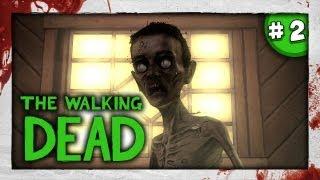 SLENDY? - JUMPSCARE D: - The Walking Dead: Episode 4 - Part 2 - Around Every Corner