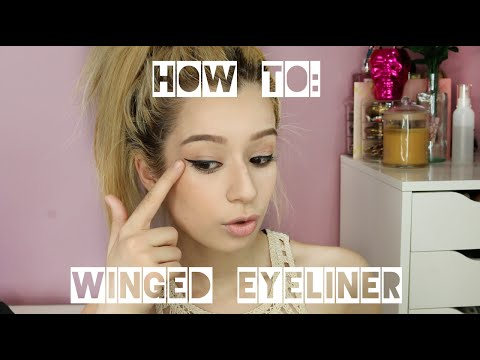 How To: Stila Stay All Day Waterproof Liquid Eyeliner On UNEVEN Eyes