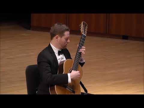 Graduate Solo Recital - Matthew Robinson, guitar - Friday, April 6, 2018 - 8pm