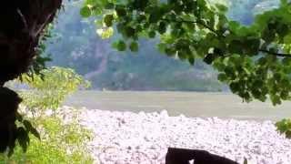 A Swami's Cave Sirasu, India along Ganga River