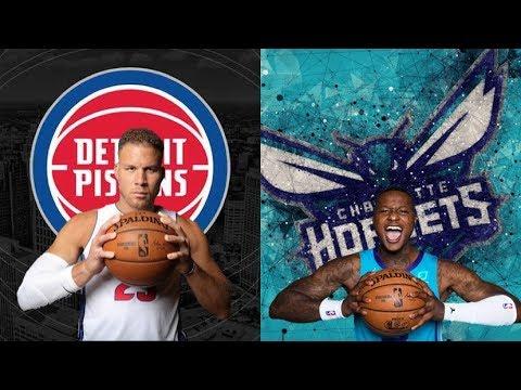 Detroit Pistons VS The Charlotte Hornets Watch Party Livestream