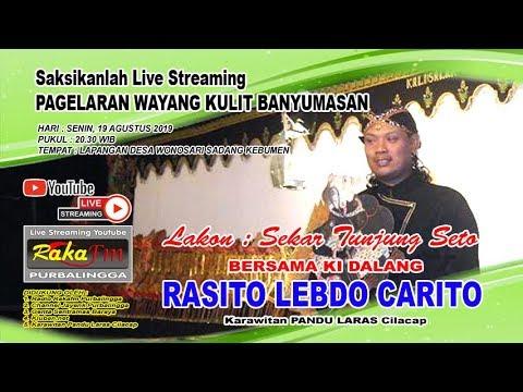 🔴 LIVE Wayang Kulit Ki Rasito Lebdo Carito // Lakon : Sekar Tunjung Seto (19.08.2019)
