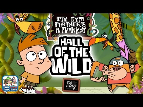 My Gym Partner's A Monkey: Hall of the Wild - Go Find All The Lunches (Cartoon Network Games)
