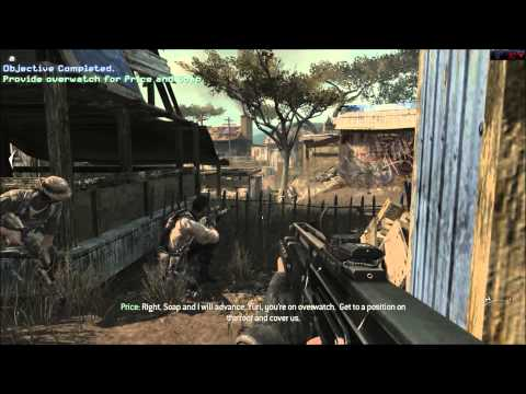 Call of duty: Modern Warfare 3 single player campaign Africa Militia level complete gameplay