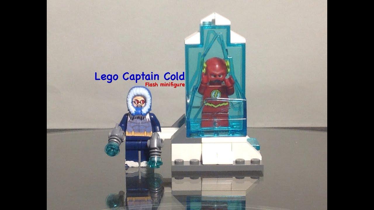 Lego Captain Cold Dc Flash Custom Minifigure Youtube