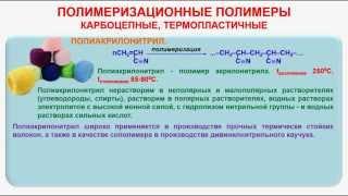видео Физико-химические закономерности получения полиамидов (полиамид-6, полиамид-6,6, полиамид-10)  - Дипломы, курсовые и прочее