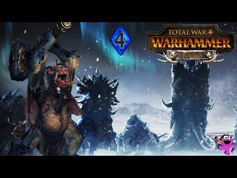 Total War Warhammer Norsca Campaign #4 - THE STORM COMES FOR NORDLAND