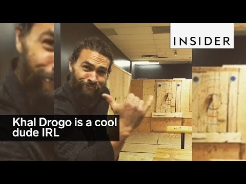 Khal Drogo from Game of Thrones is a cool dude IRL